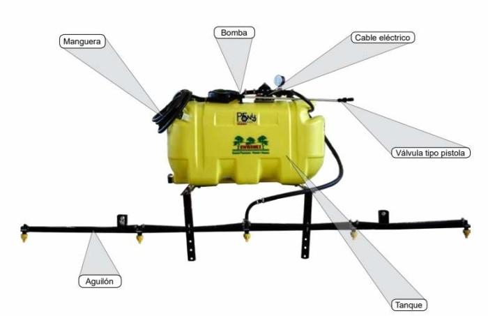 Aspersora electrica Swissmex 631010