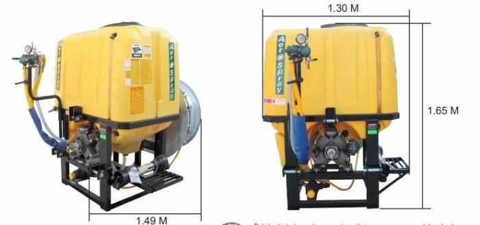 Aspersora tractor Swissmex 840200