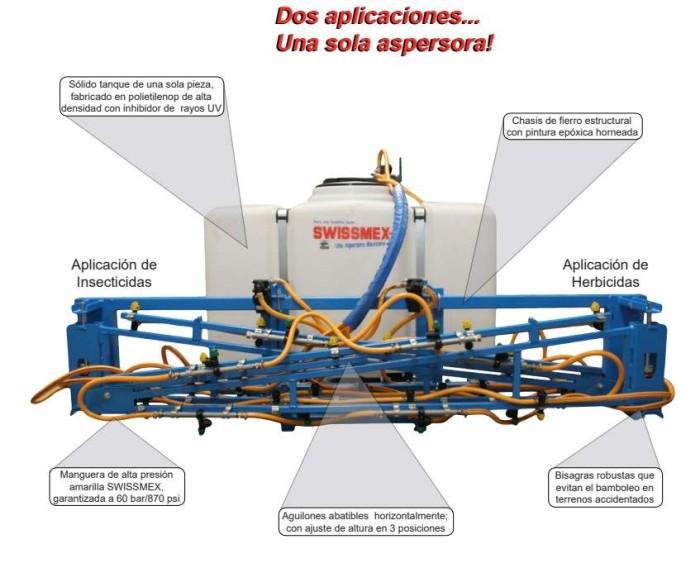 Aspersora tractor Swissmex 890130