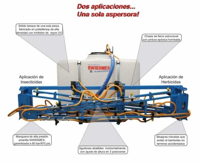 Aspersora tractor Swissmex 906100
