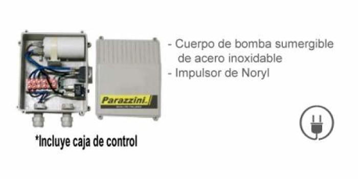 Bomba Sumergible Parazzni BSP206