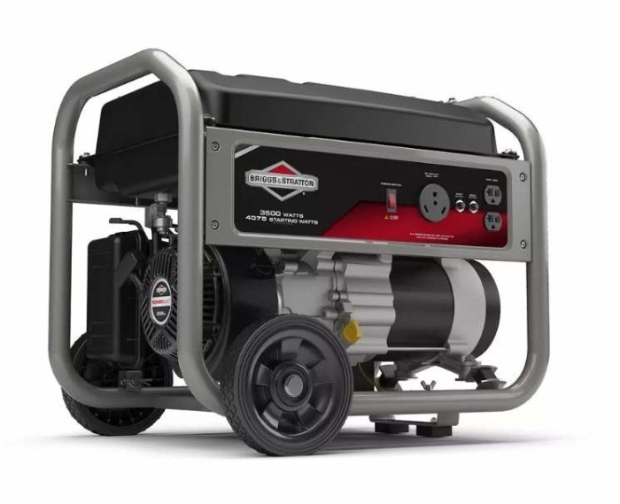 Generador portatil Briggs stratton 30711
