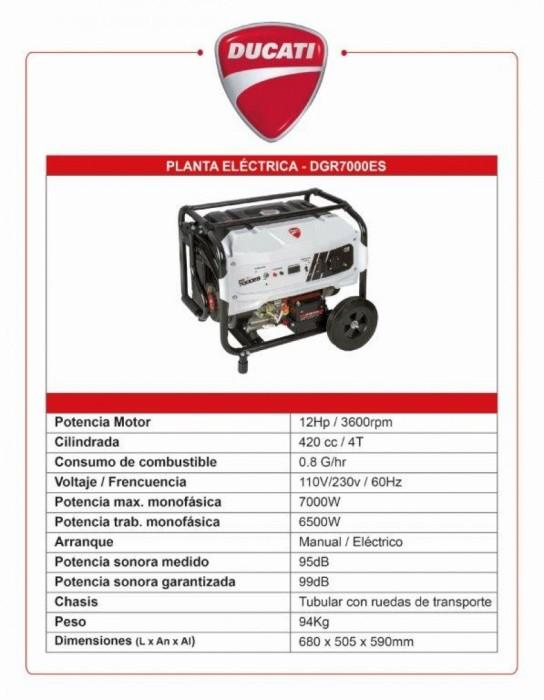 Generador Ducati DGR367000ES