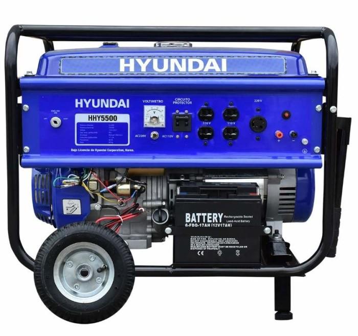Generador portatil Hyundai HHY5500