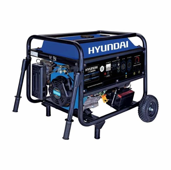 Generador portatil Hyundai HYE3800PS