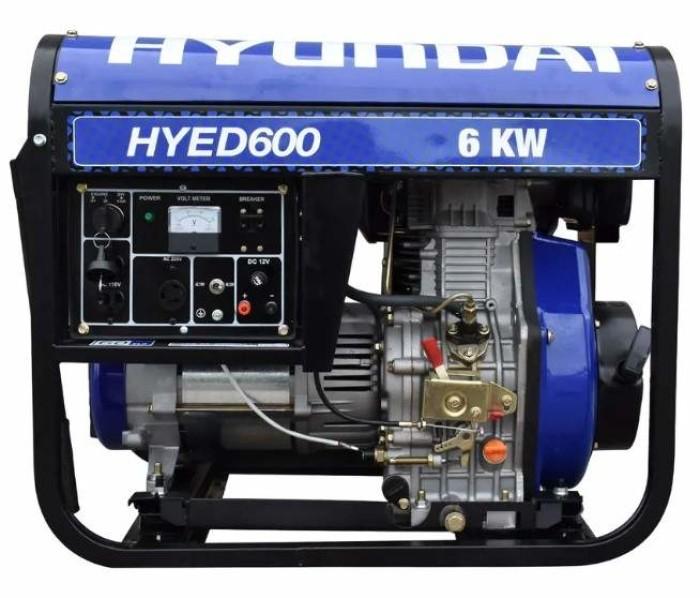 Generador portatil Hyundai HYED600