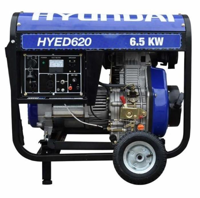 Generador portatil Hyundai HYED620