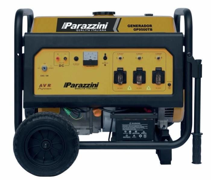 Generador portatil Parazzini GP9500TB