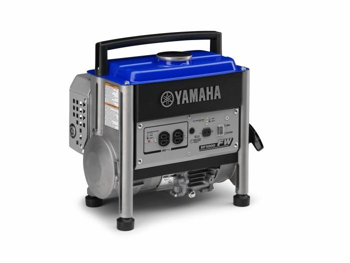 Yamaha EF1000FW Generador estándar