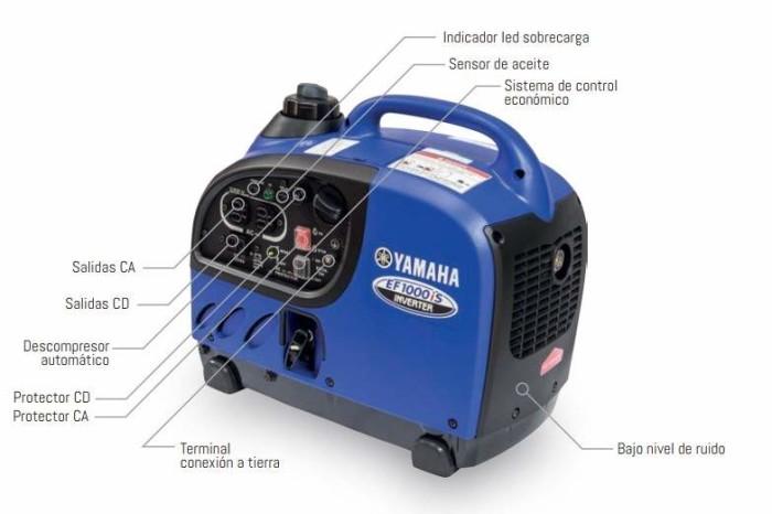 Generador Yamaha EF1000iS-1