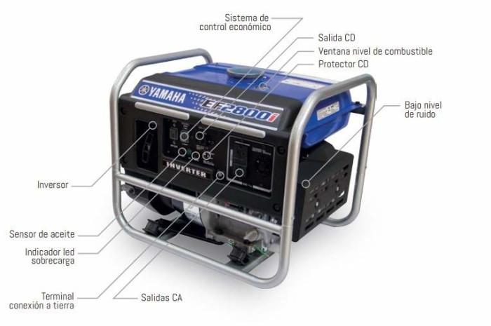 Generador Yamaha EF2800i-1