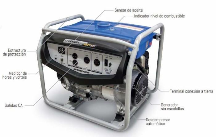 Generador Yamaha EF5500DFW-1