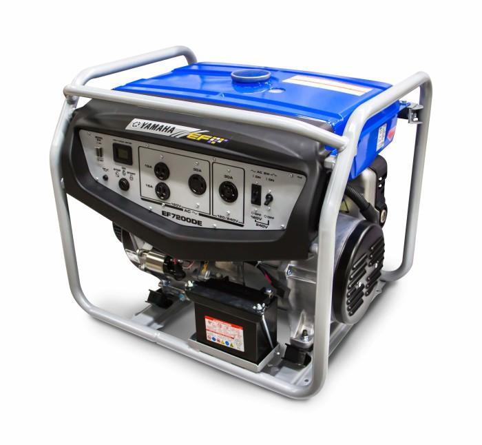 Yamaha EF7200DE Generador estándar
