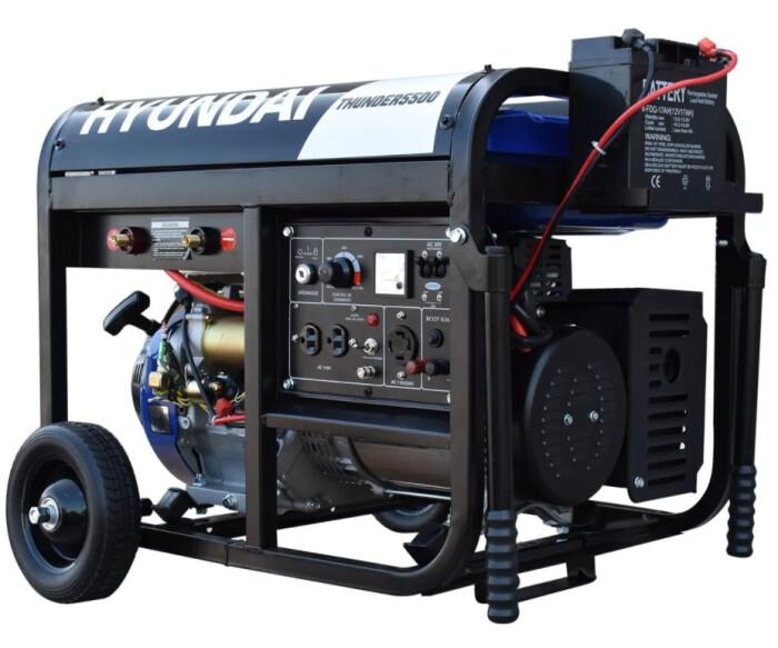 Generador portatil Hyundai THUNDER5500