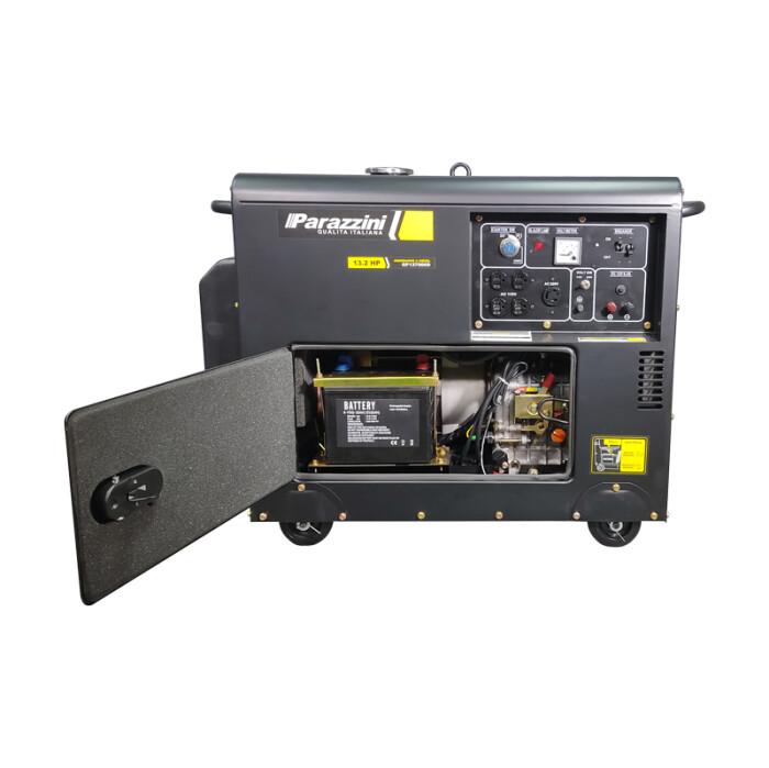 Parazzini GP137000D Generador 13 hp Diesel 4 tiempos
