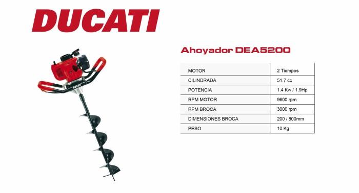Hoyadora Ducati DEA5200
