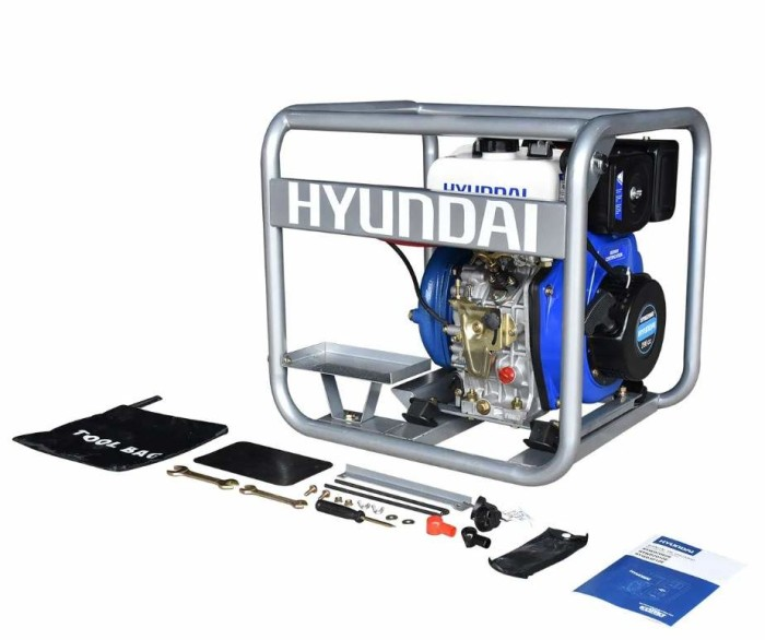 Motobomba centrifuga Hyundai HYWD2060E
