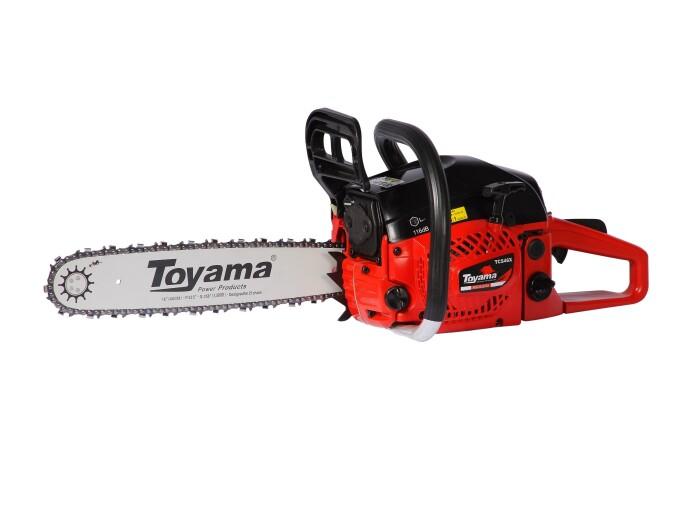 "Toyama TCS46X Motosierra 16"" pulg. 2.8 HP"