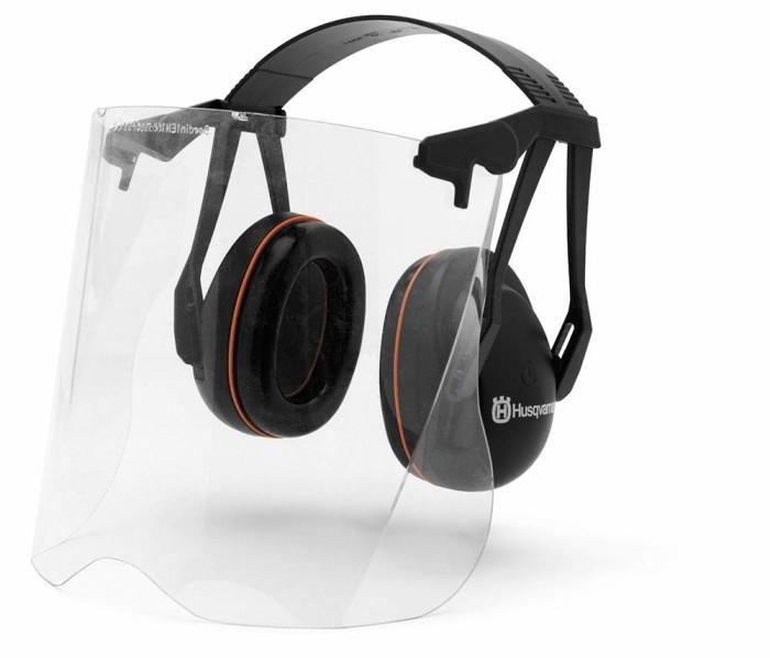 Husqvarna Protector auditivo con visor