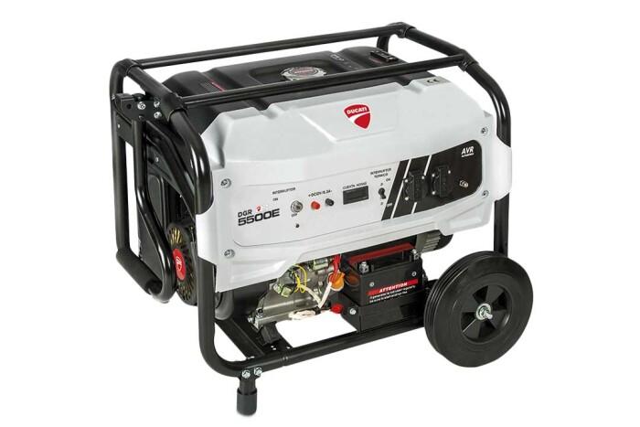 Ducati DGR365500ES Generador planta de luz 13 Hp 110V-220V